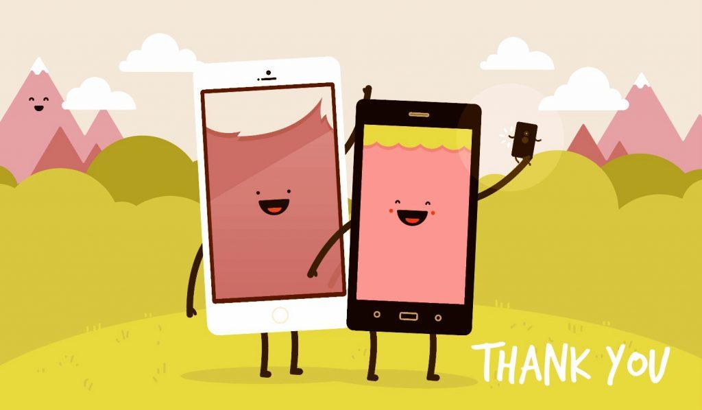 happy phones...</p> </div><!-- .entry-content --> <div class=