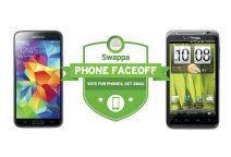 Samsung Galaxy S5 distroys the HTC Thunderbolt