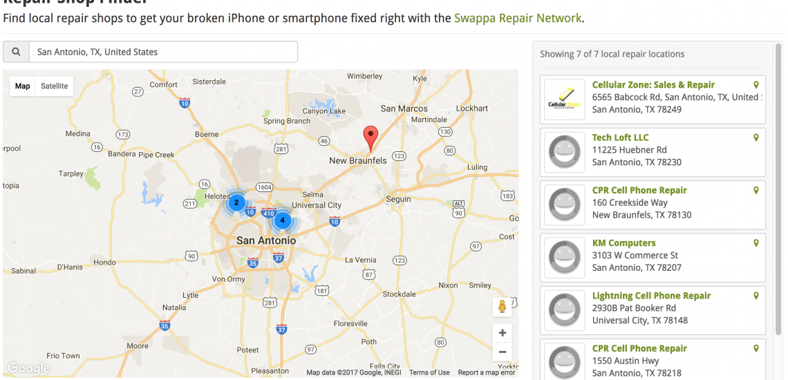 Press Release: Join the Swappa Repair Network