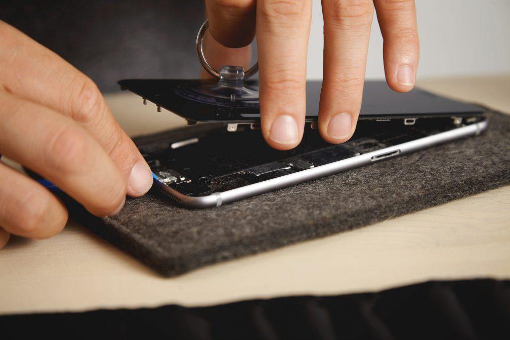 Phone Repair of Broken iPhone