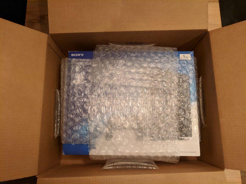 PlayStation shipping