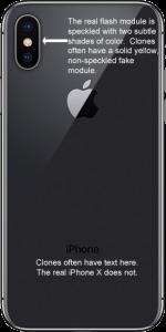 Fake iPhone X clone
