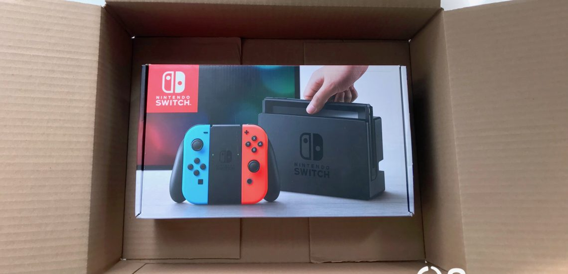 Best way to ship the Nintendo Switch