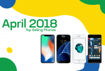 Top selling used phones – April 2018