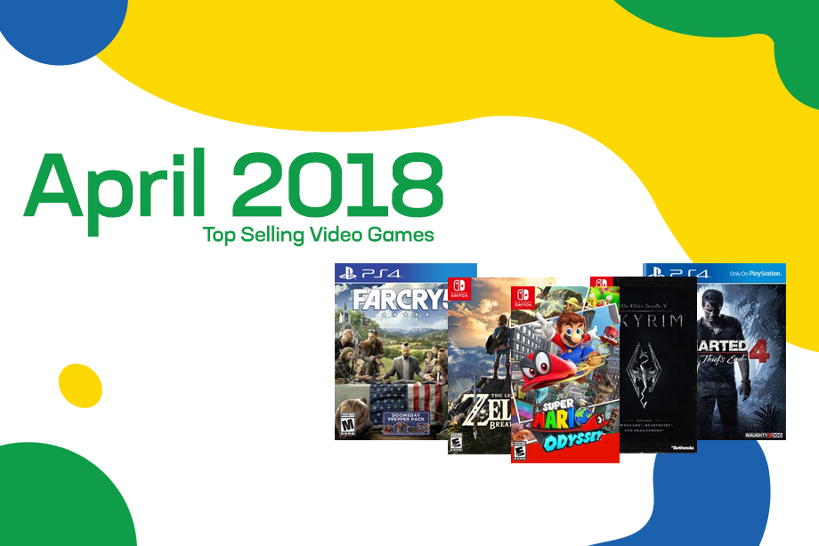 Top Selling Used Video Games – April 2018