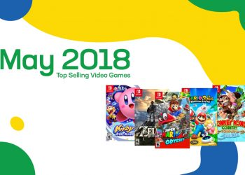 Top Selling Used Video Games – May 2018
