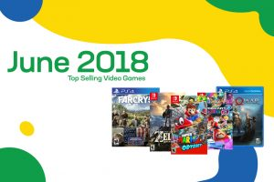 Top Selling Used Video Games – June 2018