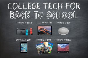 Tech for College Students on a Budget