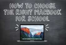 How to Choose the Right MacBook for School