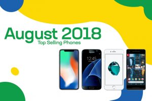 Top Selling Used Phones – August 2018