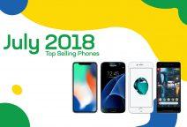 Top selling used phones – July 2018