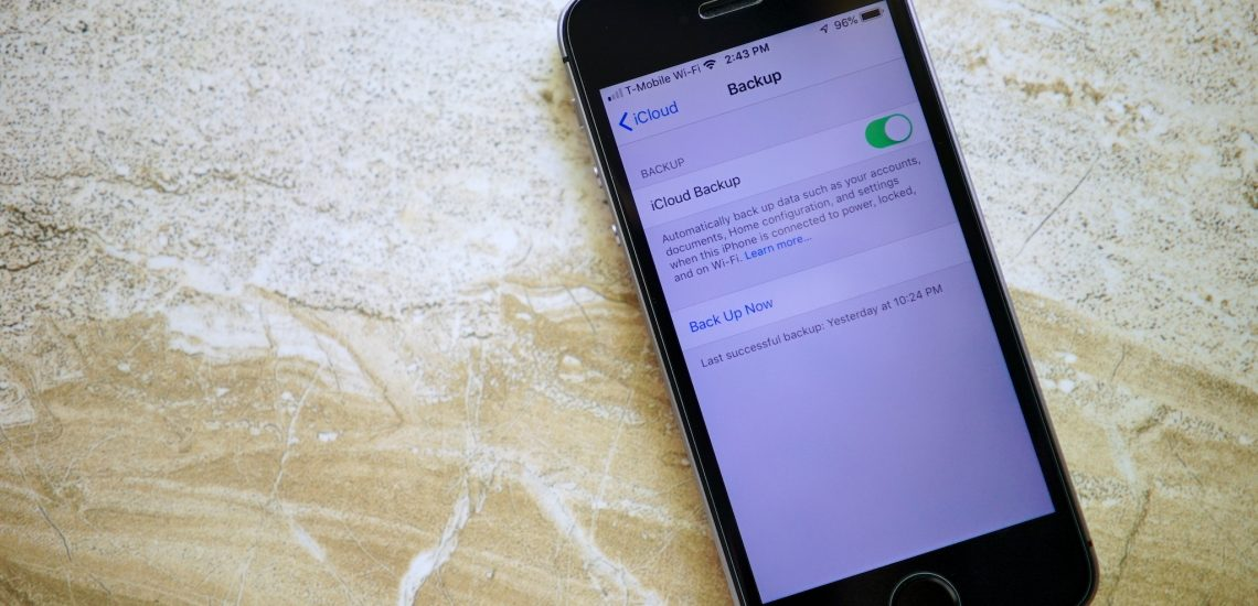How to backup your iPhone