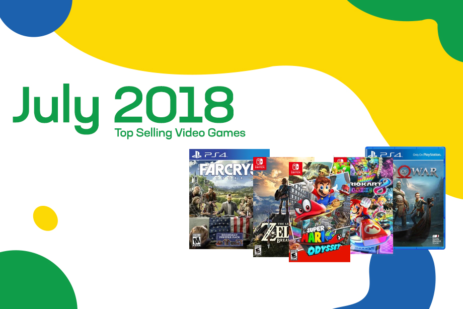 Top Selling Used Video Games – July 2018