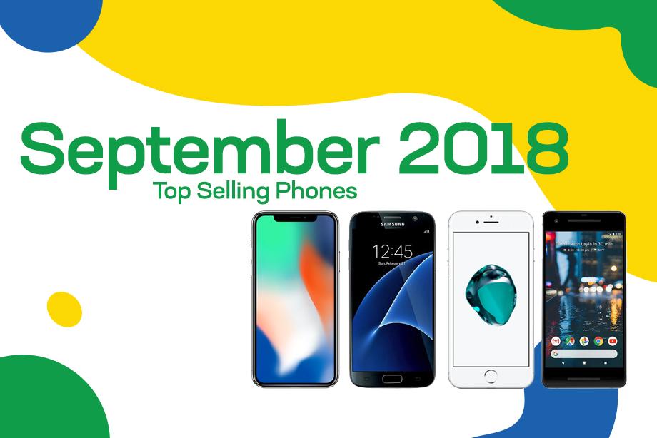 Top selling used phones – September 2018