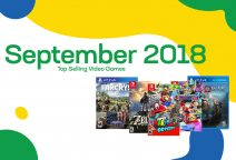 Top selling used video games – September 2018