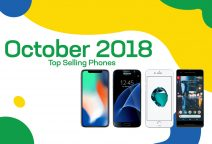 Top selling used phones – October 2018