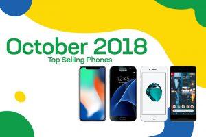 Top selling used phones – October 2018