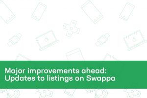 Major improvements ahead: Updates to listings on Swappa
