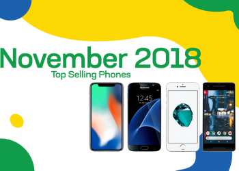 Top selling used phones – November 2018