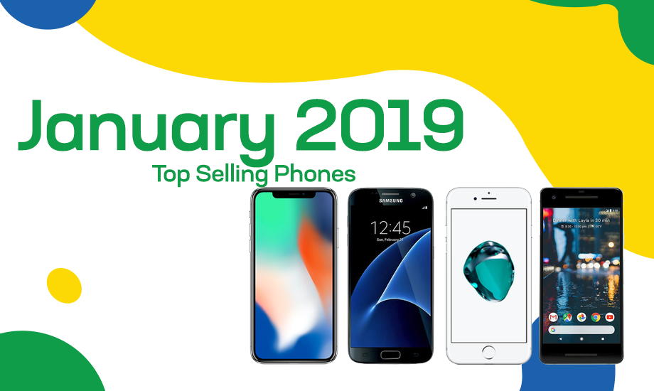 Top selling used phones – January 2019