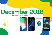Top selling used phones – December 2018