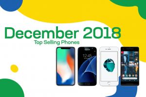 Top selling used phones – December 2018