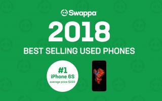 Best selling used phones of 2018