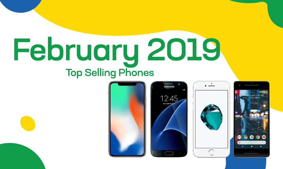 Top selling used phones – February 2019