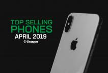 Top selling used phones – April 2019