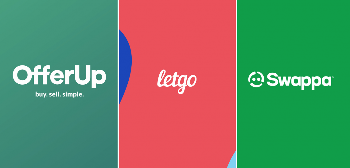OfferUp vs Letgo vs Swappa