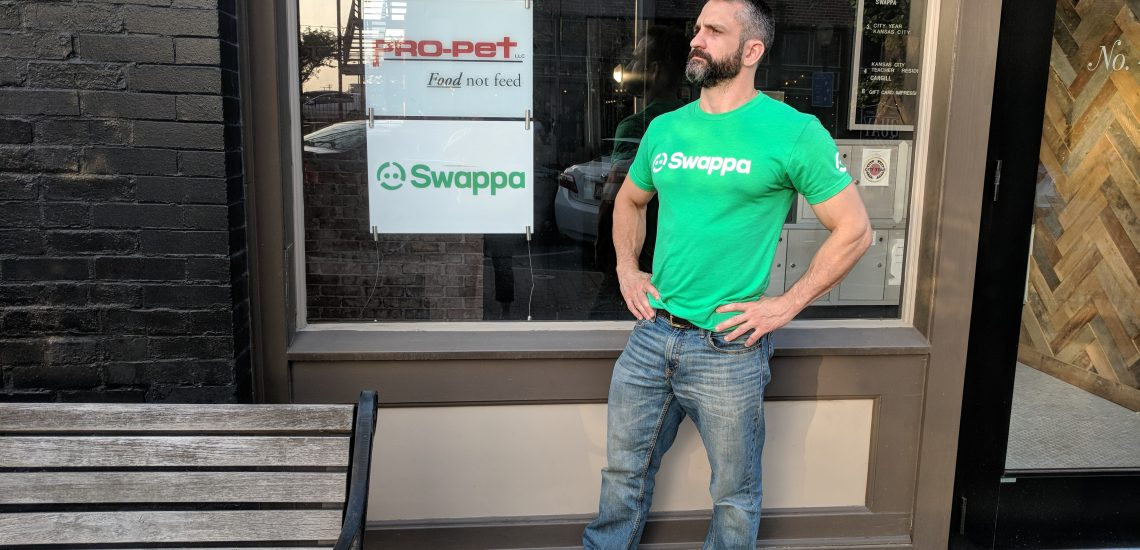Share Swappa Local and get a free t-shirt