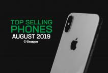 Top selling used phones – August 2019