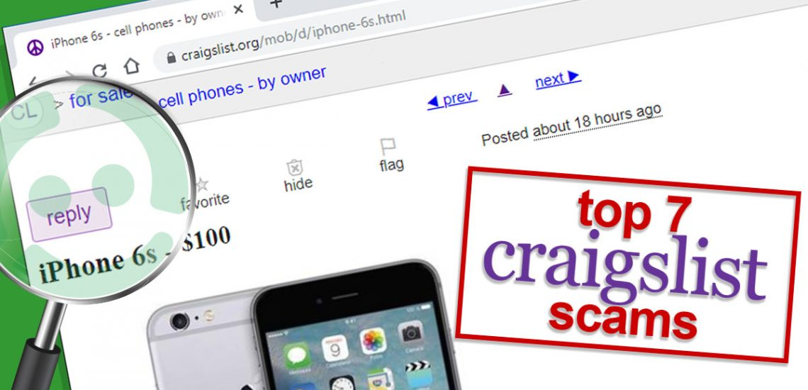 Top 7 Craigslist scams (and how to avoid them)