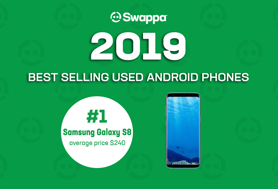 Top 10 best-selling used Android phones of 2019