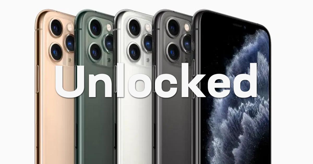 Unlocked iPhone 11 Pro Max on Swappa