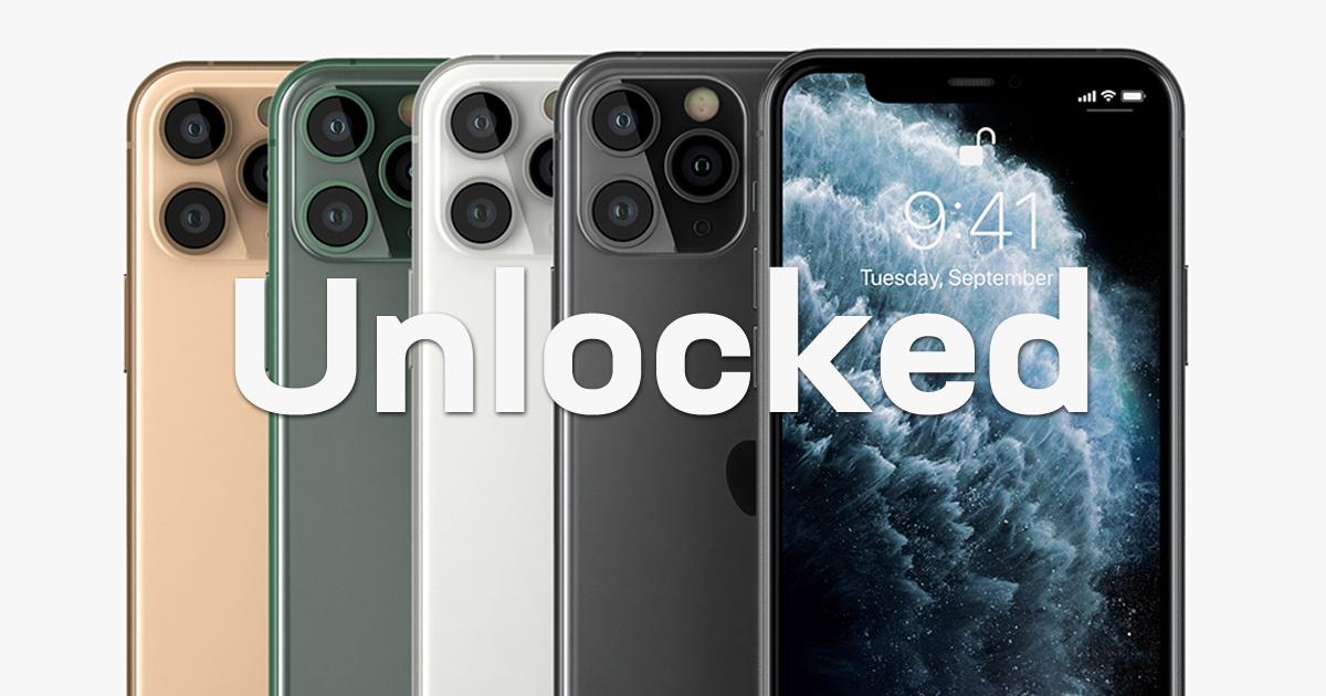 Unlocked iPhone 11 Pro on Swappa