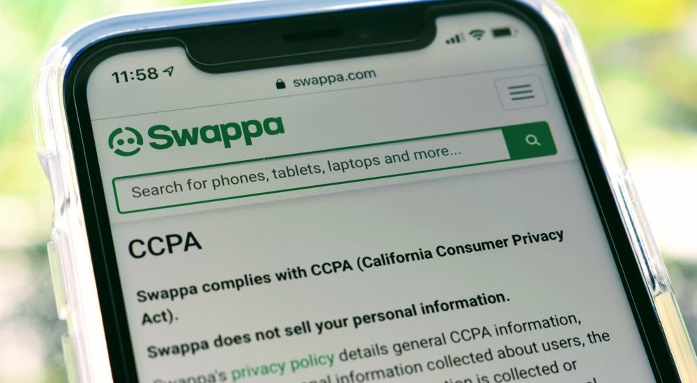 Privacy on Swappa: California Consumer Privacy Act (CCPA)