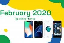 Top selling used phones – February 2020