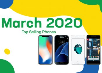 Top selling used phones – March 2020