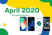 Top selling used  phones – April 2020