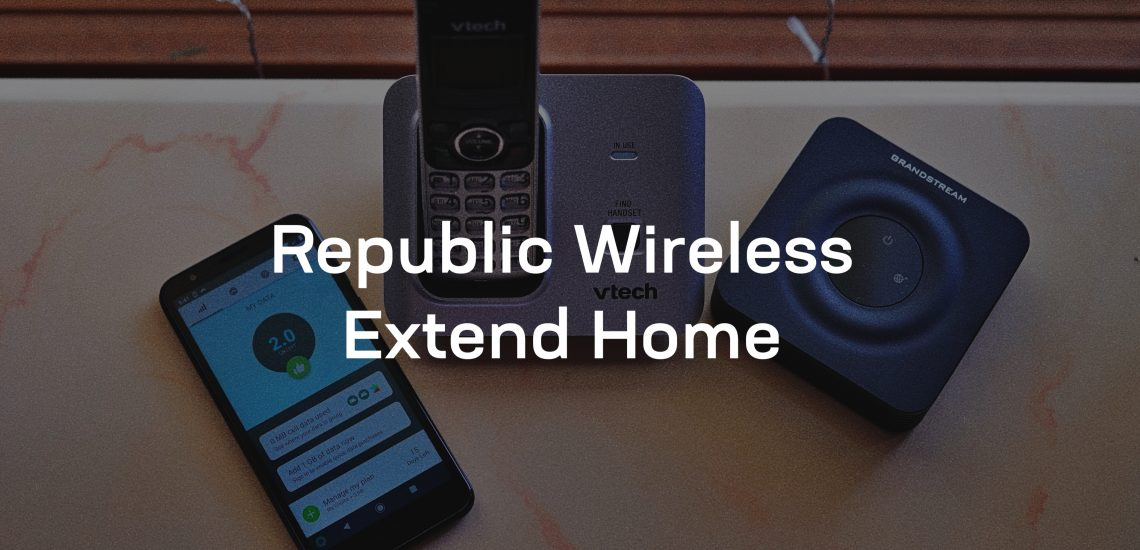 Republic Wireless Extend Home lets you share your cell phone plan with your home phone