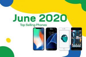 Top selling used phones – June 2020