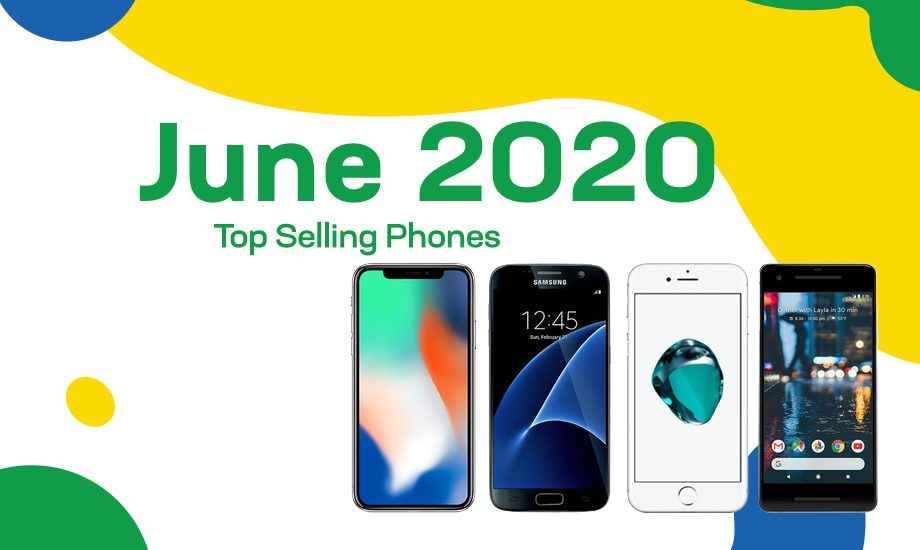 Top selling used phones – June 2020