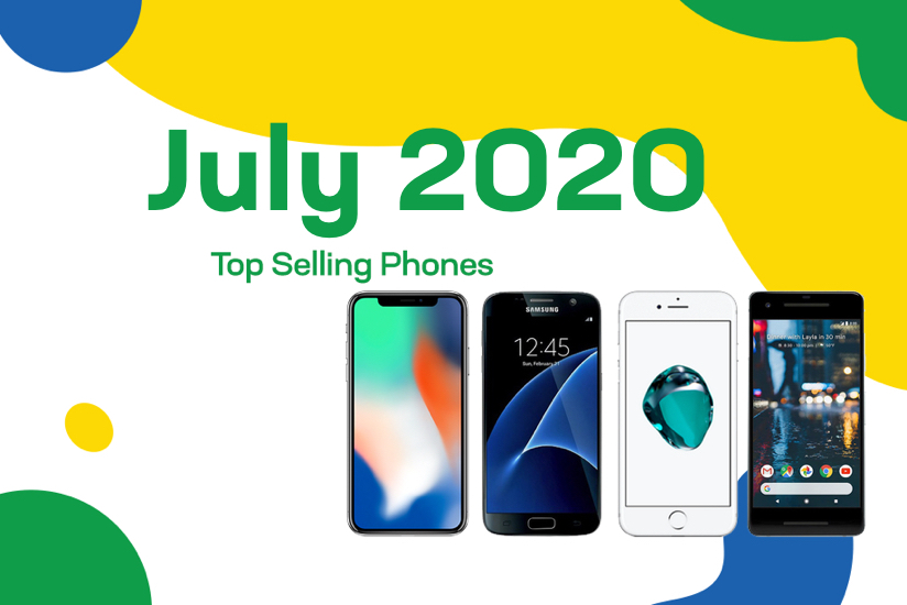Top selling used phones – July 2020
