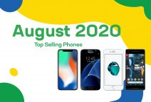 Top selling used phones – August 2020