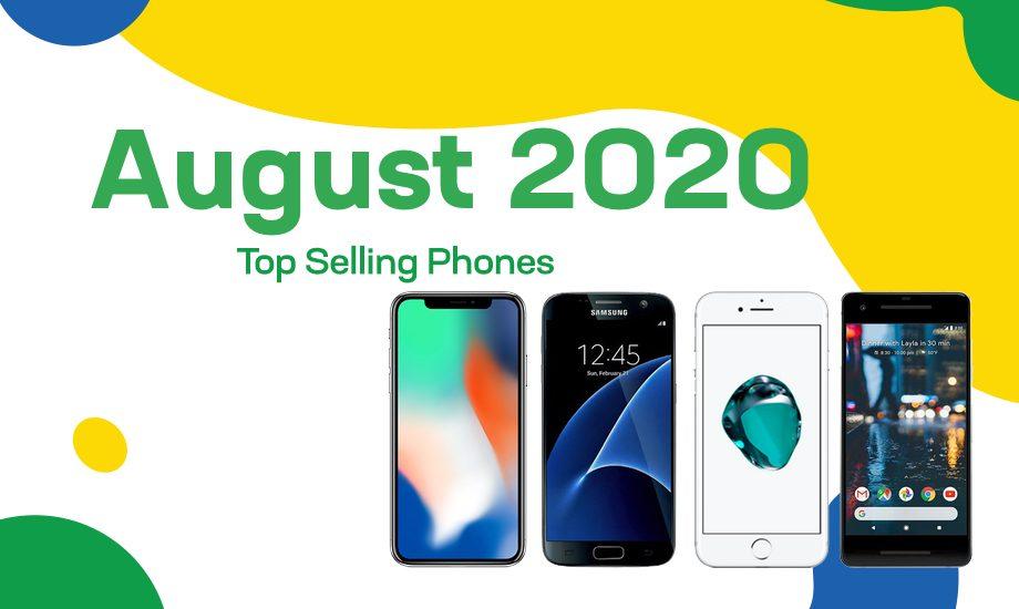 Top selling used phones – August 2020