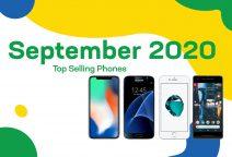 Top selling used phones – September 2020